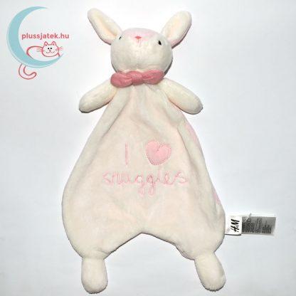 I love snuggles H&M nyuszi szundikendő - rózsaszín