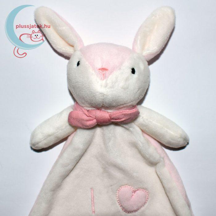I love snuggles H&M nyuszi szundikendő közelről, rózsaszín