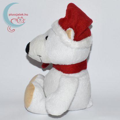 Kinder plüss jegesmedve - sima szőrű, oldalról