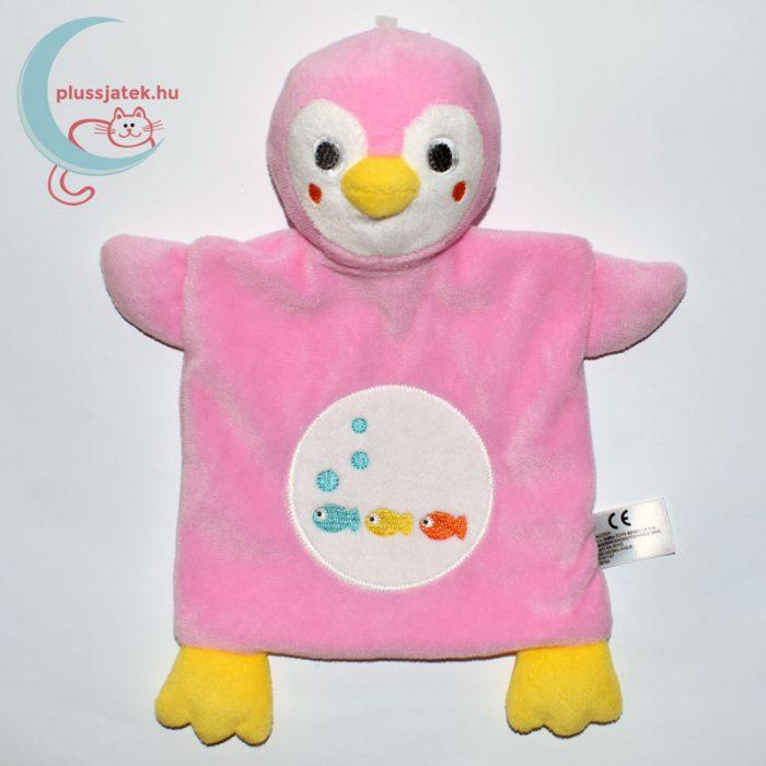 Nicotoy hal mintás pingvin szundikendő - rózsaszín