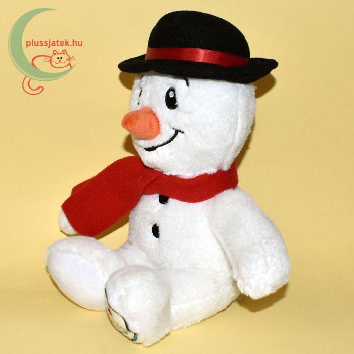 Christmas Kingdom plüss hóember balról