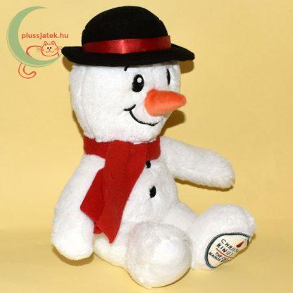 Christmas Kingdom plüss hóember jobbról