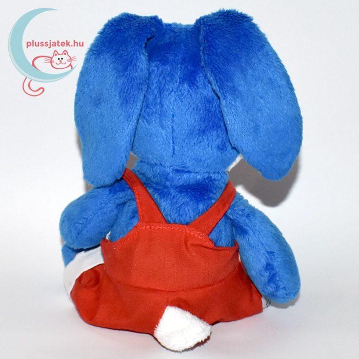 Kinder kék plüss nyúl hátulról