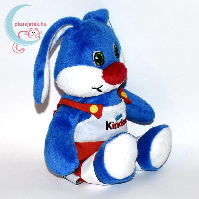 Kinder kék plüss nyúl jobbról