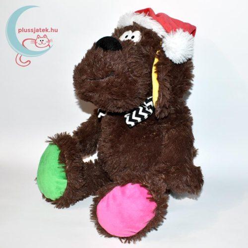 Pets at home - Vidám karácsonyi plüss kutya balról