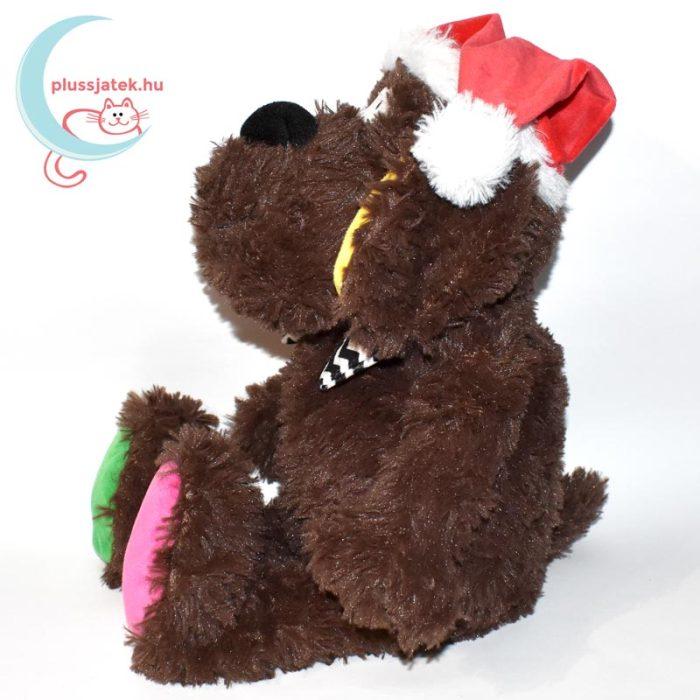 Pets at home - Vidám karácsonyi plüss kutya oldalról