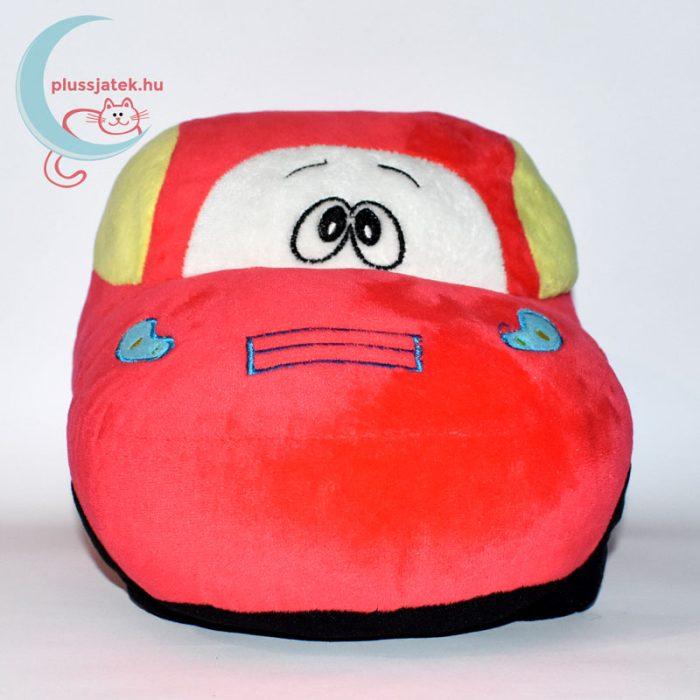 Piros színű plüss autó