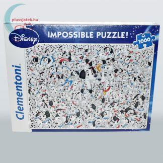101 kiskutya - A lehetetlen puzzle (Clementoni 1000 db-os kirakó)