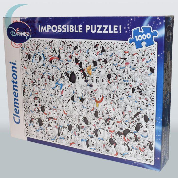 101 kiskutya - A lehetetlen puzzle (Clementoni 1000 db-os kirakó) balról
