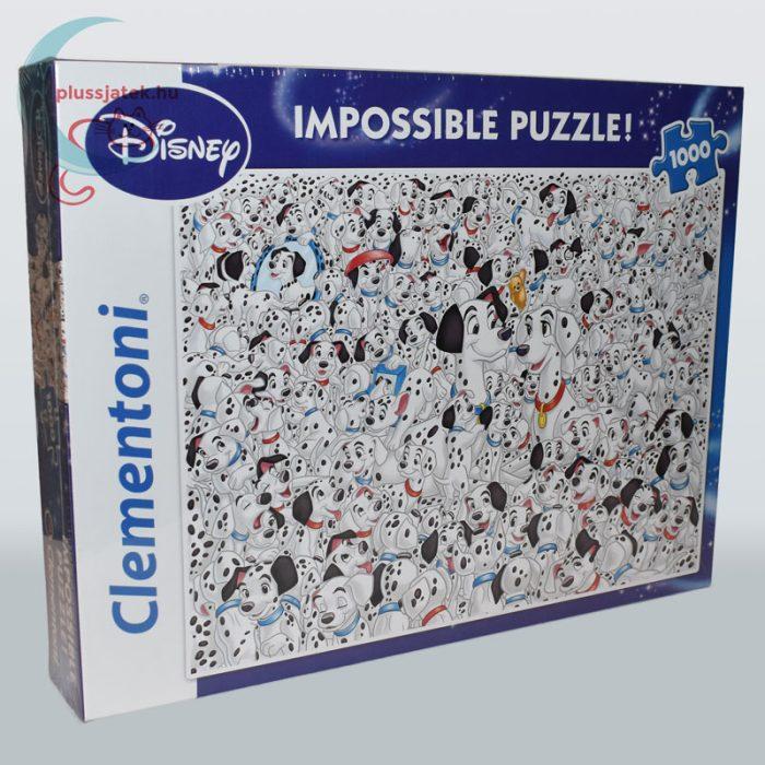 101 kiskutya - A lehetetlen puzzle (Clementoni 1000 db-os kirakó) jobbról