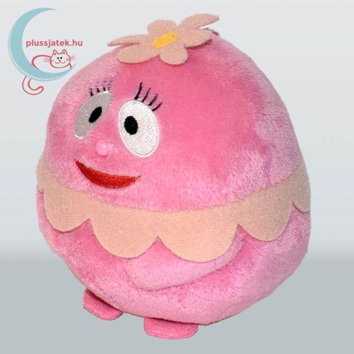 TY Beanie Ballz Foofa boldog rózsaszín plüss virág buborék balról