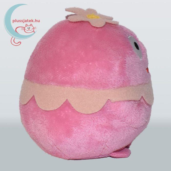 TY Beanie Ballz Foofa boldog rózsaszín plüss virág buborék oldalról