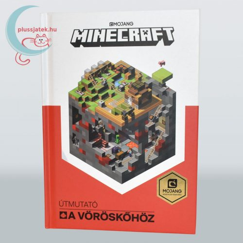 Minecraft - Útmutató a vöröskőhöz könyv borító