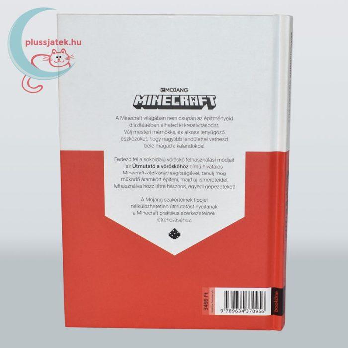 Minecraft - Útmutató a vöröskőhöz könyv hátsó borító