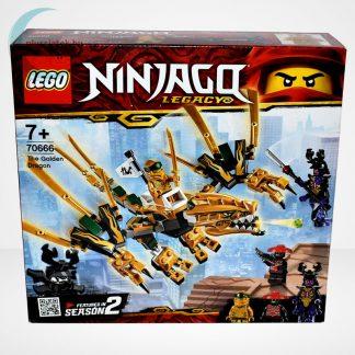 Lego Ninjago - Az aranysárkány (The Golden Dragon) - 70666