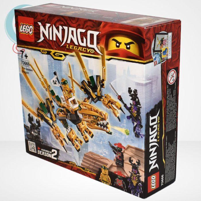 Lego Ninjago - Az aranysárkány (The Golden Dragon) - 70666 balról
