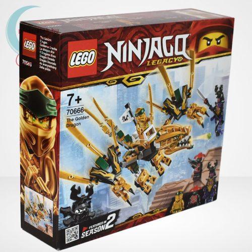 Lego Ninjago - Az aranysárkány (The Golden Dragon) - 70666 jobbról