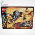 Lego Ninjago - Cole cross motorja (Cole's Dirt Bike) - 70672, hátulról