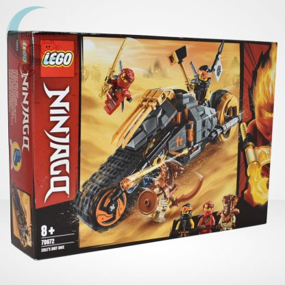 Lego Ninjago - Cole cross motorja (Cole's Dirt Bike) - 70672, jobbról