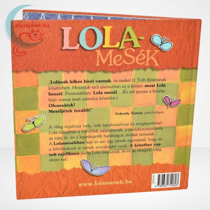 D. Tóth Kriszta: Lolamesék - Paracsidom kertészet könyv hátulról