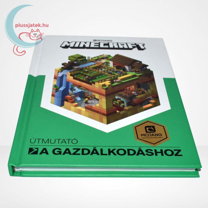 Minecraft - Útmutató a gazdálkodáshoz (zöld könyv), oldalról