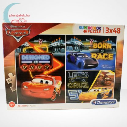 Verdák 3 (Cars) 3x48 db-os Clementoni puzzle (Disney kirakó)
