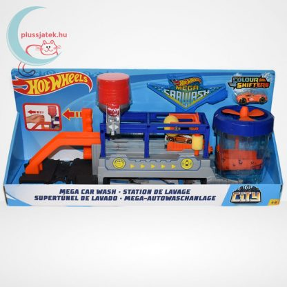 Hot Wheels Mega autómosó (Mega Car Wash)