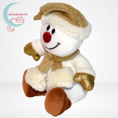 Chilly & friends plüss hóember (21 cm) balról