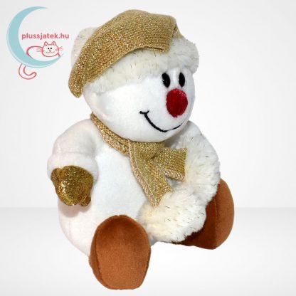 Chilly & friends plüss hóember (21 cm) jobbról