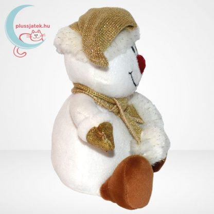 Chilly & friends plüss hóember (21 cm) oldalról