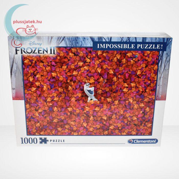 Jégvarázs 2 (Frozen 2) - A lehetetlen puzzle (Clementoni 1000 db-os kirakó)