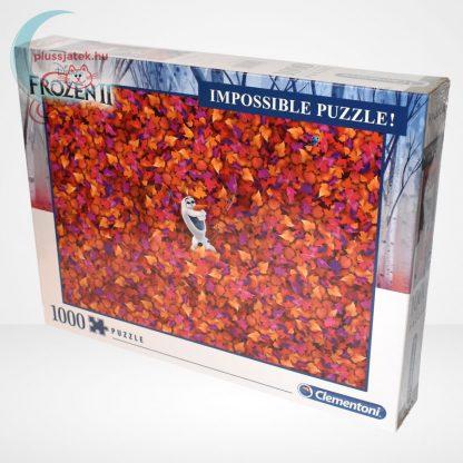 Jégvarázs 2 (Frozen 2) - A lehetetlen puzzle (Clementoni 1000 db-os kirakó), balról