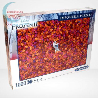 Jégvarázs 2 (Frozen 2) - A lehetetlen puzzle (Clementoni 1000 db-os kirakó), jobbról