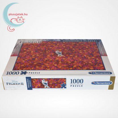 Jégvarázs 2 (Frozen 2) - A lehetetlen puzzle (Clementoni 1000 db-os kirakó), oldalról