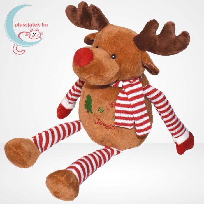 Tendertoys Jingle plüss karácsonyi rénszarvas, balról