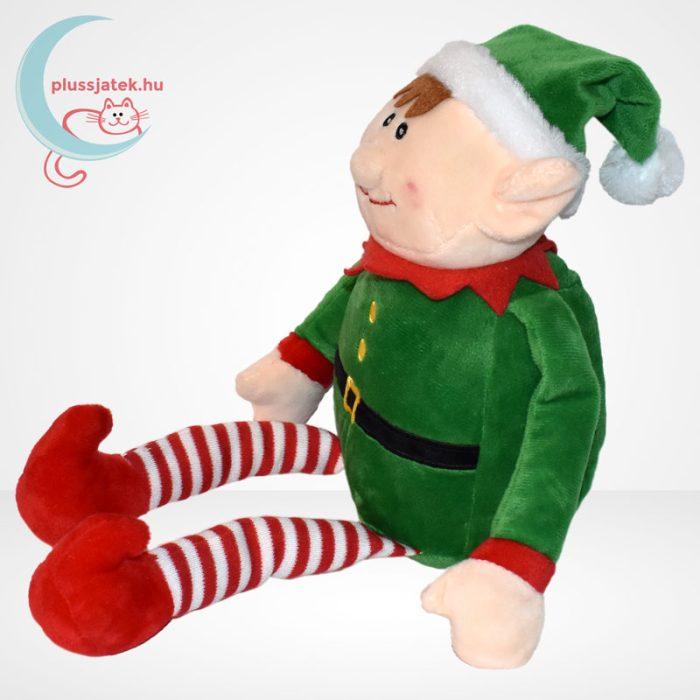 Tendertoys karácsonyi plüss manó, balról