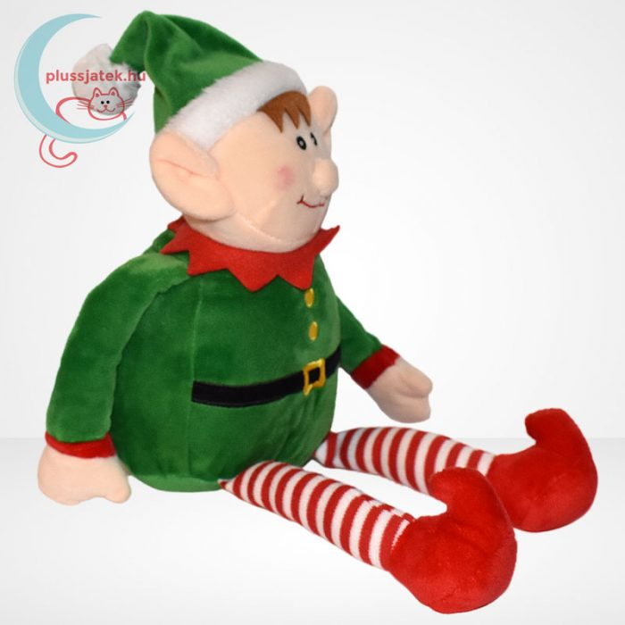 Tendertoys karácsonyi plüss manó, jobbról