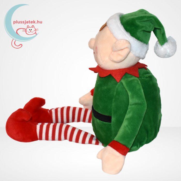 Tendertoys karácsonyi plüss manó, oldalról