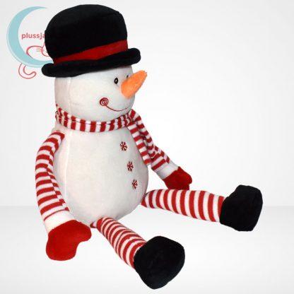 Tendertoys ünnepi plüss hóember, jobbról