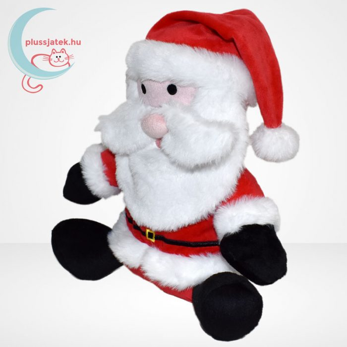 Beszélő plüss (karácsonyi) mikulás, balról