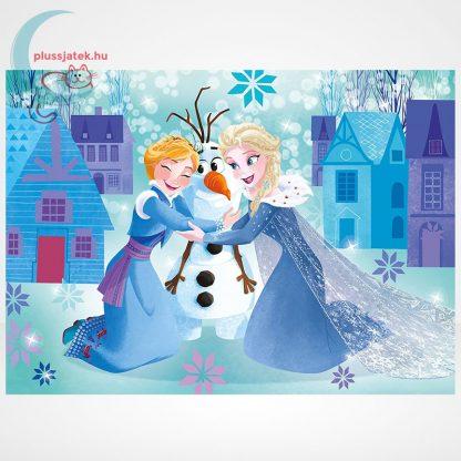 Jégvarázs: Olaf kalandjai 3 az 1-ben 3x48 darabos (144 db) Clementoni puzzle szemből, 3. kép