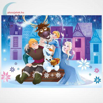 Jégvarázs: Olaf kalandjai 3 az 1-ben 3x48 darabos (144 db) Clementoni puzzle szemből, 2. kép