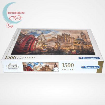 Londoni nosztalgia (Vintage London - 31807) 1500 db-os puzzle, Clementoni, oldalról