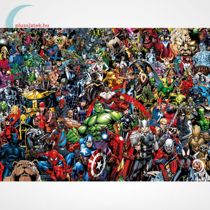 Marvel szuperhősök - A lehetetlen puzzle (Clementoni 1000 db-os kirakó) - a kép