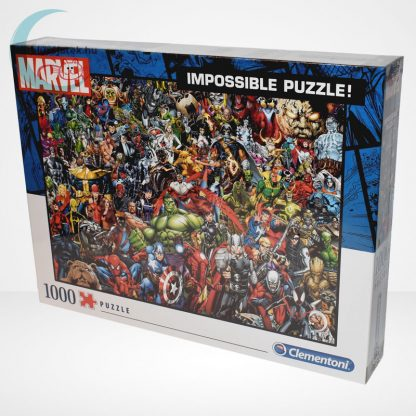 Marvel szuperhősök - A lehetetlen puzzle (Clementoni 1000 db-os kirakó) balról