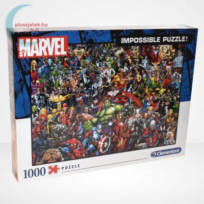 Marvel szuperhősök - A lehetetlen puzzle (Clementoni 1000 db-os kirakó) jobbról