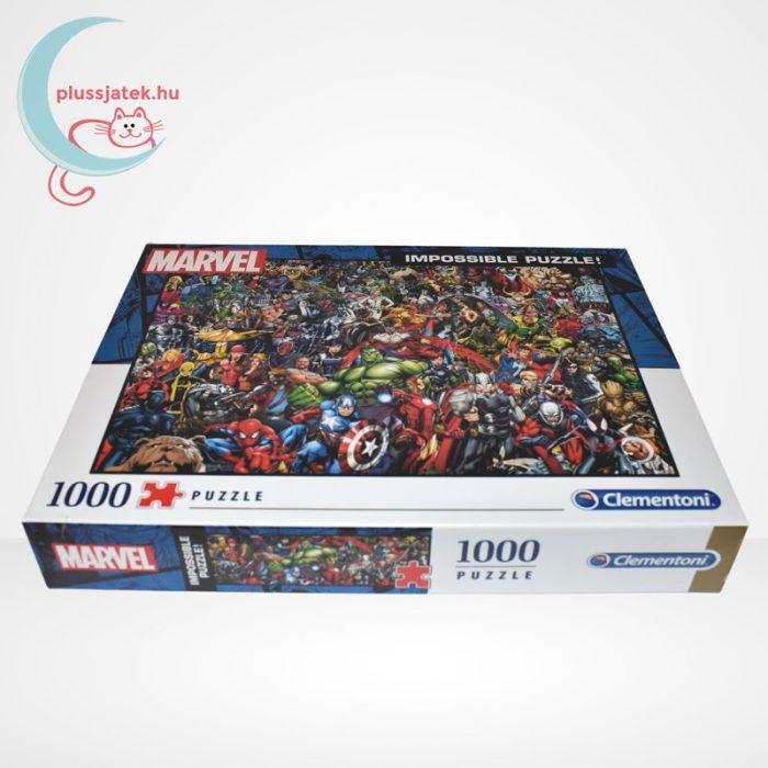 Marvel szuperhősök - A lehetetlen puzzle (Clementoni 1000 db-os kirakó) oldalról