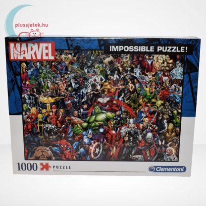 Marvel szuperhősök - A lehetetlen puzzle (Clementoni 1000 db-os kirakó) szemből