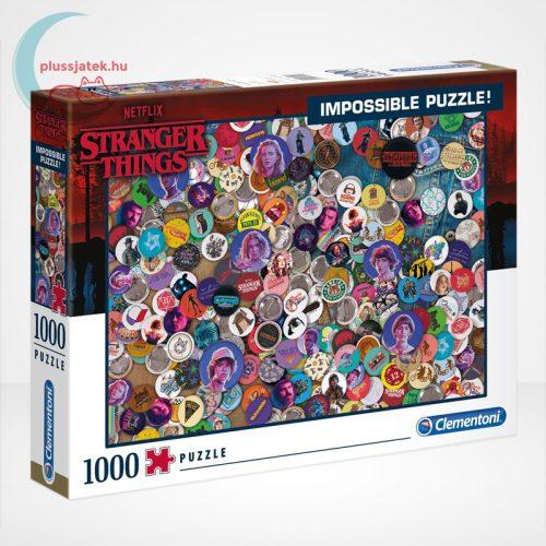 Stranger Things - A lehetetlen puzzle (Clementoni Impossible 1000 db-os kirakó)