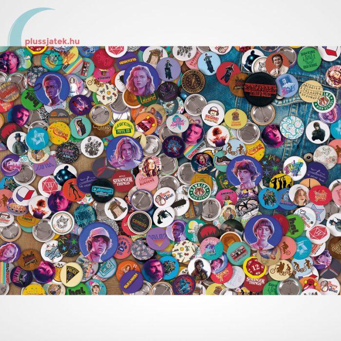 Stranger Things - A lehetetlen puzzle (Clementoni Impossible 1000 db-os kirakó), a kép